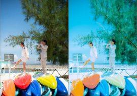 Preset lightroom trong trẻo cho anh cưới, download preset lightroom ảnh cưới