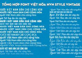 Download miễn phí font utm Vintage, tải miễn phí font utm 516family.com