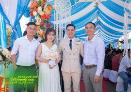 Chụp ảnh Lễ thành hôn Nguyễn Tiến_Hà Hạnh Long Khánh 2/1