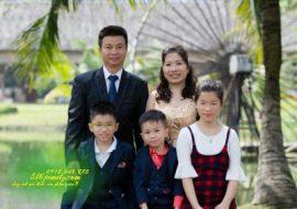 Chụp ảnh gia đình thành phố Thủ Đức
