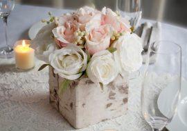 Những kiểu cắm hoa đẹp cho ngày chung đôi của bạn.