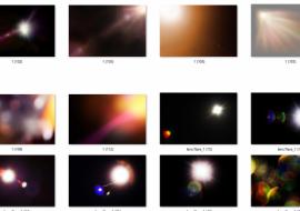 126 hiệu ứng ánh sáng cho photoshop, download miễn phí hiệu ứng ánh sáng