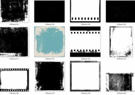 80 Textures Film cho photoshop, tải miễn phí Textures Film 2021