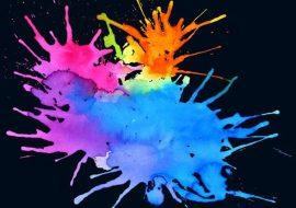 20 Splatter Color Photoshop Brushes free download, tải miễn phí Photoshop Brushes