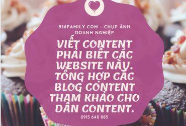 8 blog content nên đọc cho người mới. Viết content phải biết các website này.