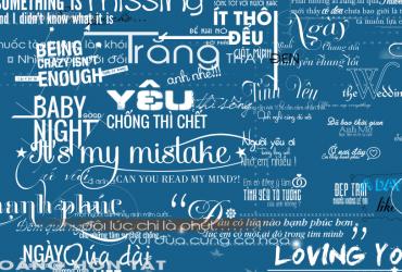 Bộ typoraphy đẹp, download typoraphy đẹp