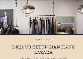 Dịch Vụ Xây Dựng Gian Hàng Lazada